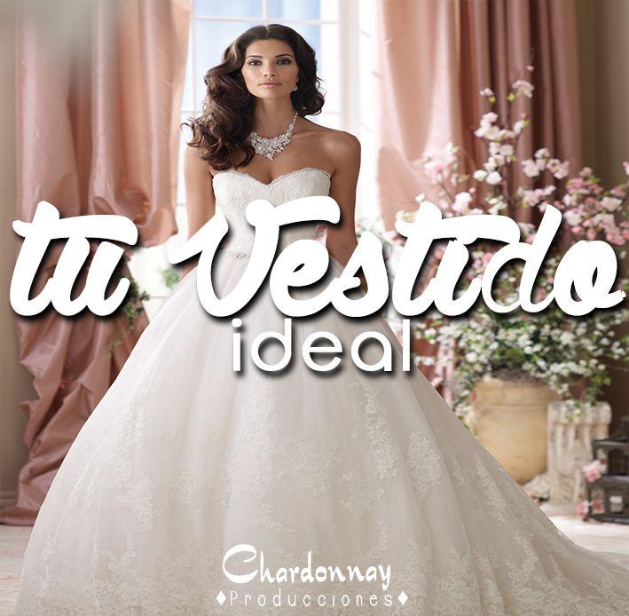 Nos encargamos de que te veas hermosa el día de tu Boda #chardonnayproducciones #weddingchile #Chile #boda