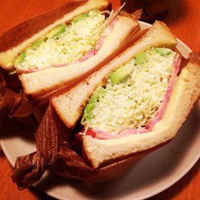 沼サン♩簡単キャベツたっぷりサンドイッチ -- Cabbage Sandwich