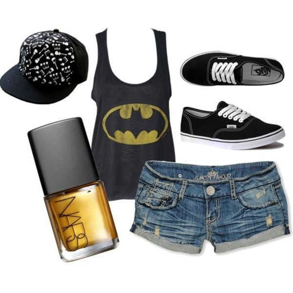 I should wear this every time K watches Batman. I'd have to wear it like twice a week minimum, lol!