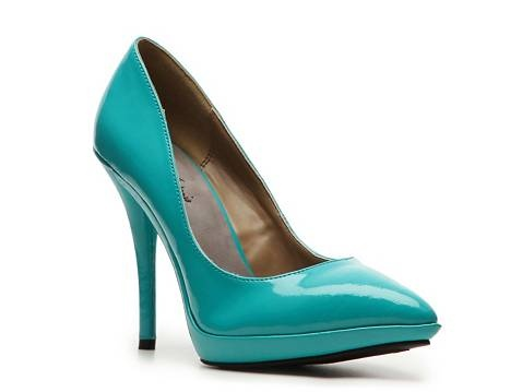 so many options... these are the right color and pointed!: Michael Antonio, Pumps Heels, Platform Pumps, Woman Shoes, Antonio Latisha, Pumps Platform, Bridesmaid Shoes, Patent Pumps, Latisha Patent