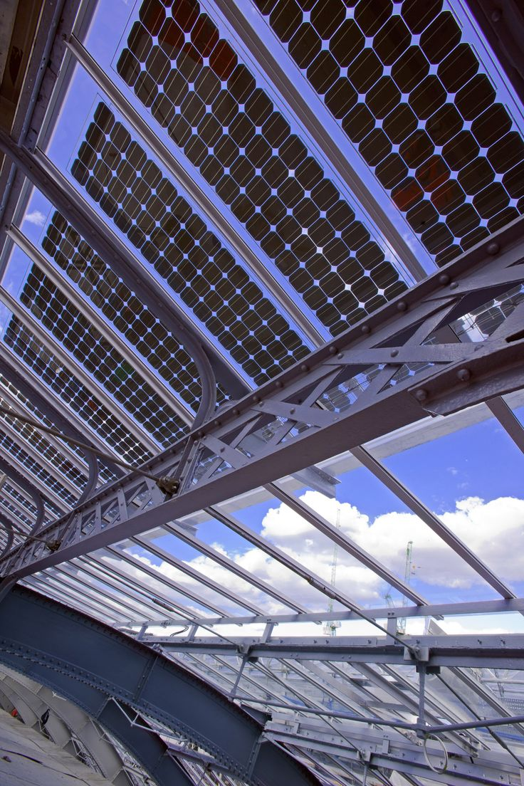 The 240kWp solar glazing system at King's Cross railway ...
