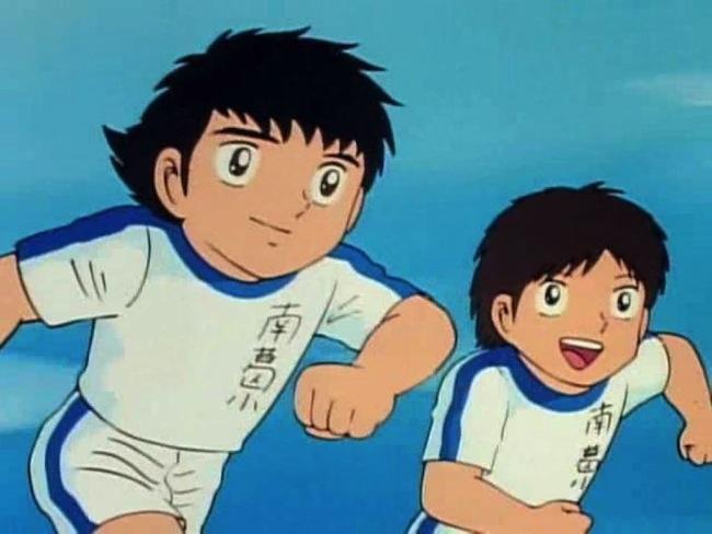Oliver y Benji, héroes infantiles Chandaleros