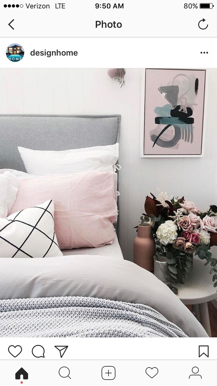 Pin by Mona Khaled on grey bedroom Bedroom styles