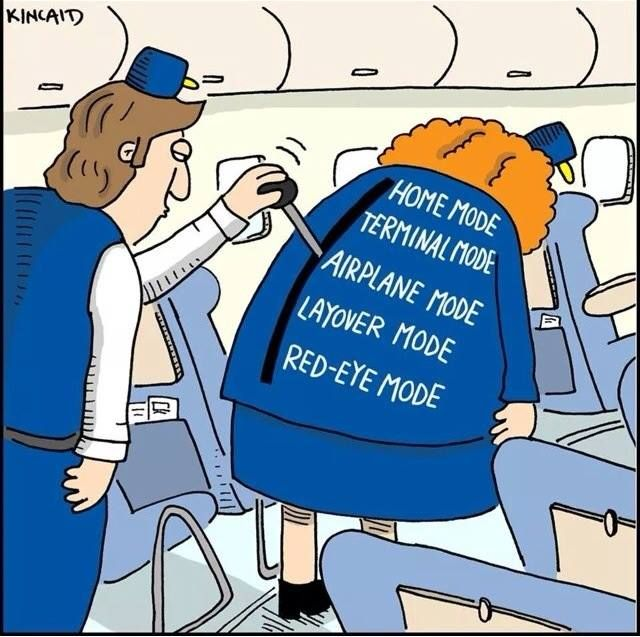 Some say flight attendants are like robots. What say you?  Repin! #crewlife #flightattendants