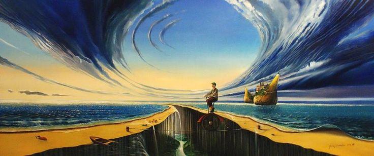The Great Wave by Andrzej Gudanski on ArtClick.ie