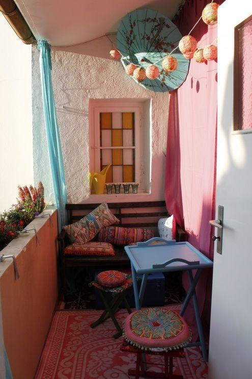 Ideias Para Varanda Pequena de Apartamento!