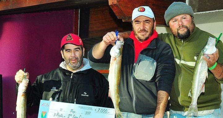No es por la plata...es por el gusto de pescar,,,pero bueno, ya que está....