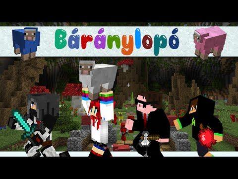 Minepolis - Báránylopó! w/ IceBlueBird, Chabinho, Alma