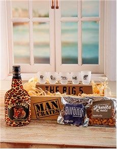 Birthday Gifts Ideas for Men: Wild Side Man Crate!
