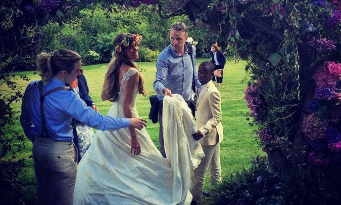 Brad Pitt y David Beckham, invitados VIP en la boda de cine de Guy Ritchie