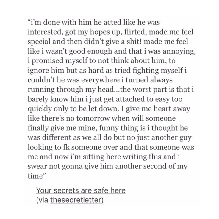 Oh my god someone wrote this for me these are the words that I'm thinking