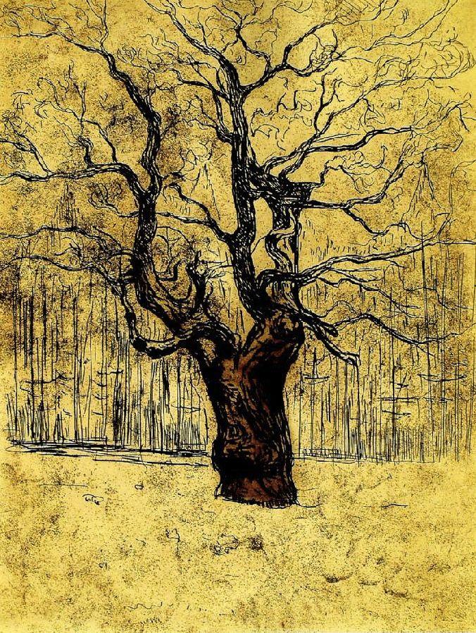 Eken (1903) (Edvard Munch - )