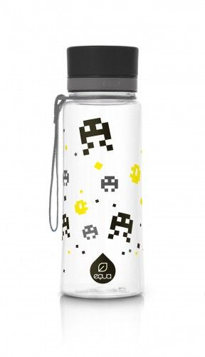 Enjoying your flash back? The Black Pixel bottle will remind you to stay hydrated while pew-pewing through your day.