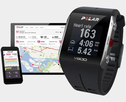 V800 GPS sports watch