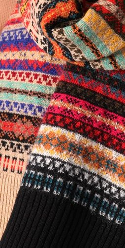 .Gorgeous! Fair Isle inspirations Find yours at nationofvintage.com