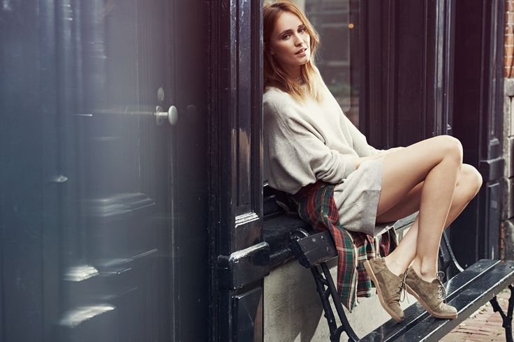 Shop the #lace-up shoes from the Shabbies Amsterdam campaign.