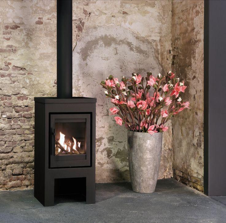 Flores gas: gaskachel met de uitstraling van een echte houtkachel