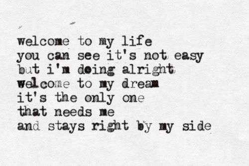 Sunrise Avenue, Welcome to my life♡