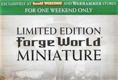 Forge World Returns to Games Workshop Stores