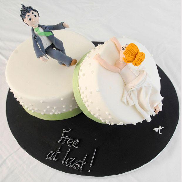 10 bolos de divórcio: Comemorando a separação com humor