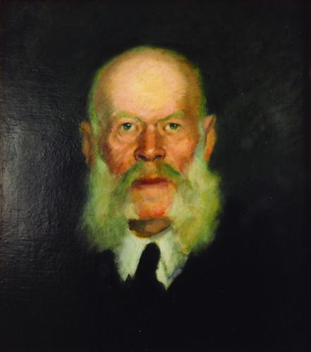 Nicolae Tonitza - PORTRETUL LUI ION SAULEA, UNCHIUL ARTISTULUI