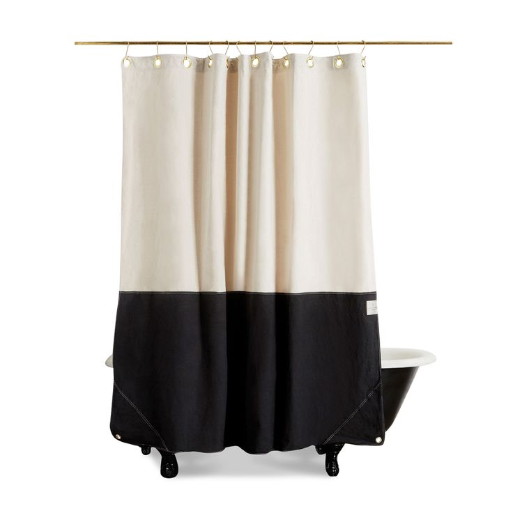 Canvas Shower Curtain