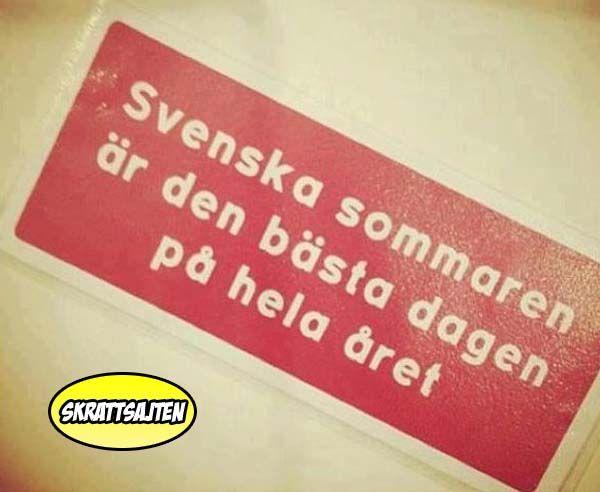 Svenska sommaren