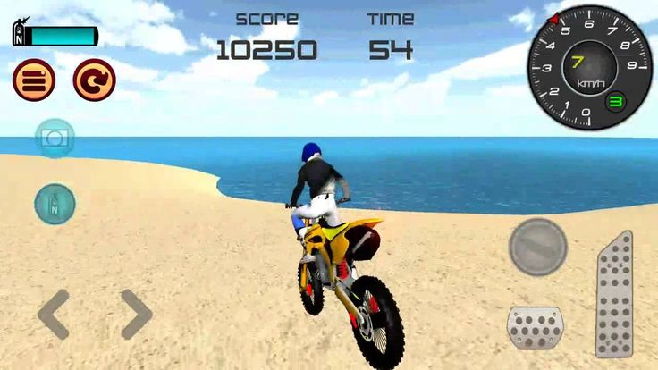 Motocross Beach Jumping 3D Walkthrough GamePlay Android Game  Motocross Beach Jumping 3D Walkthrough GamePlay Android Game dev Mibejo Mobile Welcome to Motocross Beach Jumping 3D - awesome motorbike simulator game :) Imagine yourself driving your motocross bike on the tropical beach on the island. Get on your motorbike ride fast and perform amazing stunts on the big ramps. Earn points by jumping off the stunt ramps and beat your highscore before time runs out! If you like simulation games…