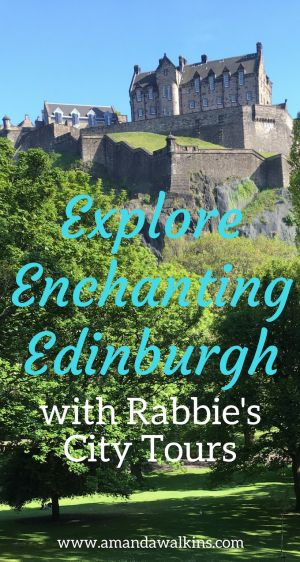 Rabbie's Edinburgh City Tours allow you to explore the Scottish capital with a wealth of insights provided along the way. It's a great way to get an overview of the city upon arrival!