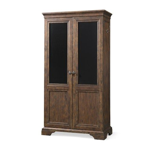Trisha Yearwood Home Collection by Klaussner Trisha Yearwood Home Walk Away Joe Storage Cabinet with Chalkboard on Doors