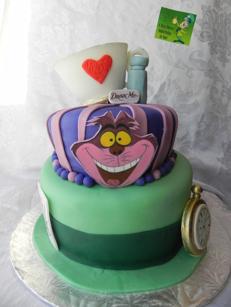 Mad Hatter Cake Our Cakes And Cupcakes Mad Hatter Cake