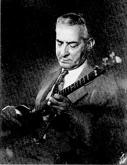 Ahmad Ebādi (Persian: احمد عبادی) (b. 1906 - d. 1992) (1285 - 1371 Š) was an Iranian musician and setar player. Born in Tehran, Iran. He was a member of the most extraordinary family of Iranian music. Ahmad's father, Mirza Abdollah, was arguably the most influential figure in Persian traditional music, and his paternal uncle, Mirza Hossein Gholi, was well-known for his mastery in playing the tar. Ahmad's paternal grandfather, Ali Akbar Farahani, was also a talented musician.