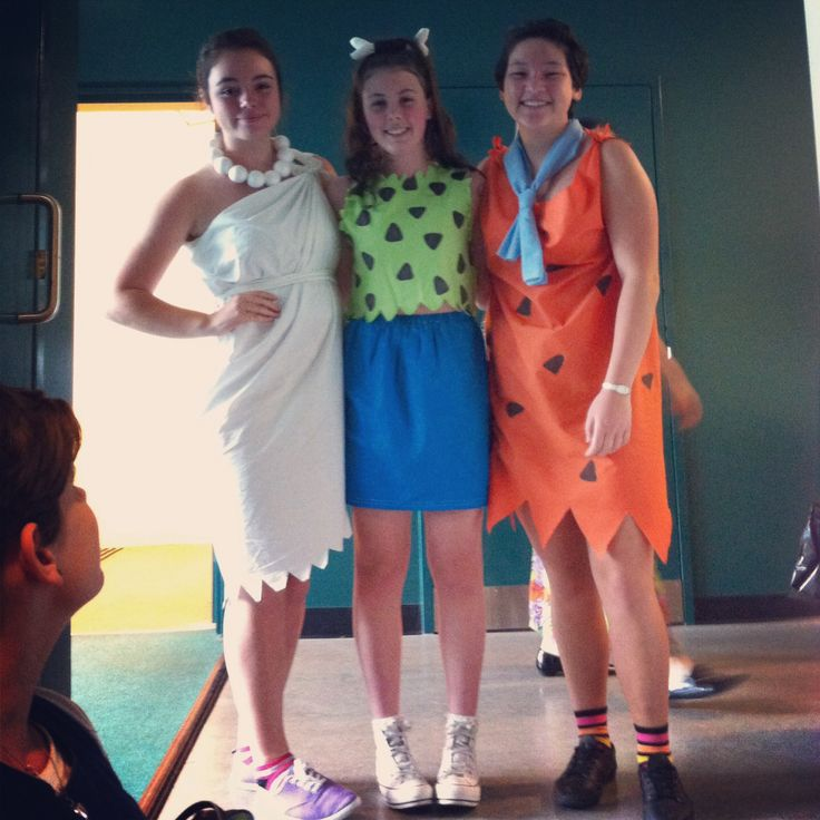 How To Make Wilma And Fred Costumes