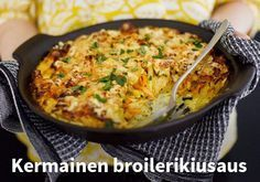 Kermainen broilerikiusaus Resepti: Kariniemi #kauppahalli24 #ruoka #resepti…