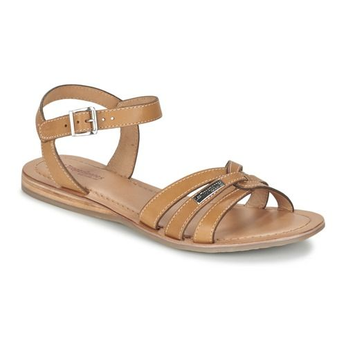 Les Tropéziennes par M Belarbi BALISTO Beige - Chaussure pas cher avec Shoes.fr ! - Chaussures Sandale Femme 65,00 €
