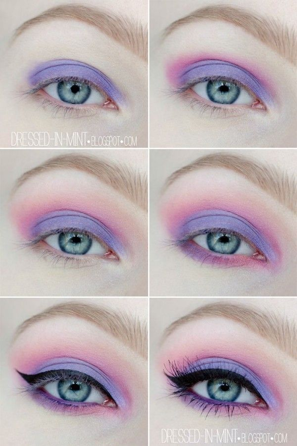 Ideas for a perfect pastel goth  – Makeup