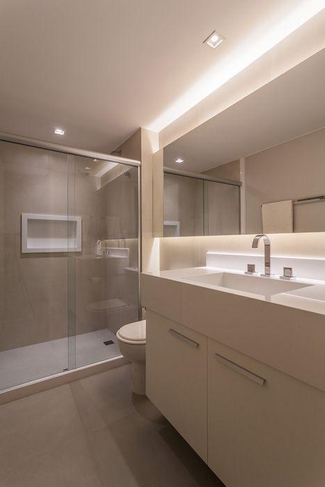amenajare baie moderna dus cu paravan sticla mobilier baie modern