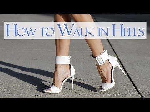 Learn how to walk in heels with these easy to follow steps! Feel confident walking in high heels, wedges, platforms and stilletos. The heels in this video ar...