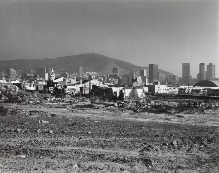 David Goldblatt 'The destruction of District Six under the Group Areas Act. Cape Town, Cape. 5 May 1982', 1982 © David Goldblatt