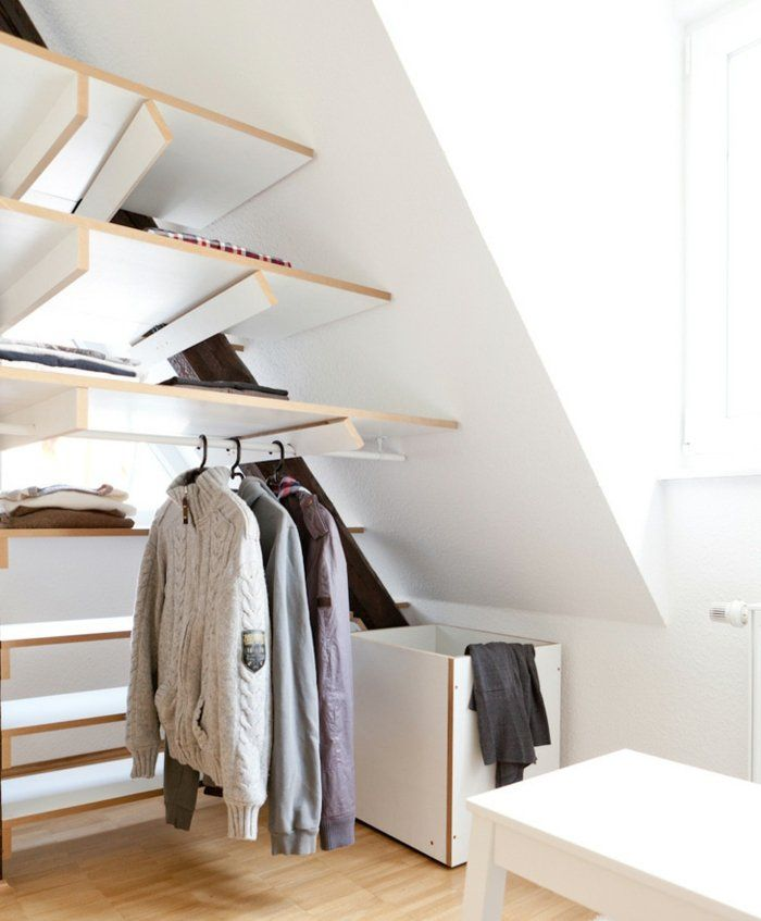 17 meilleures id es propos de r novation maison - Idee rangement sous vetement ...