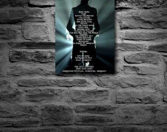 David Bowie Aladdin Sane Ziggy Stardust by BlackstarDisplays