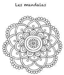 Resultado de imagen para mandalas faciles de hacer a mano a color