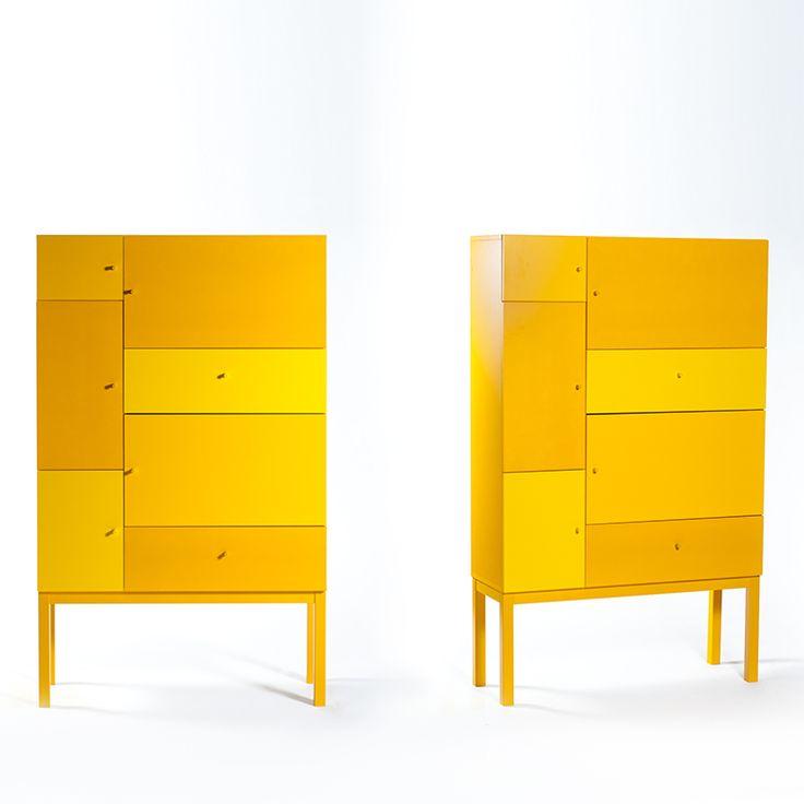 Pixel 7 byrå, gula nyanser från Select21 – Köp online på Rum21.se