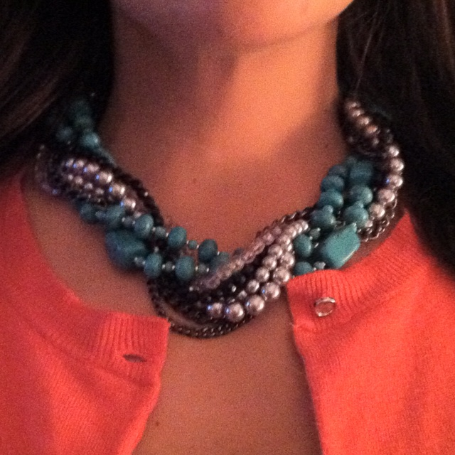 Main Event and Cabo necklaces twisted together!!! Fabulous combo and I give it away!