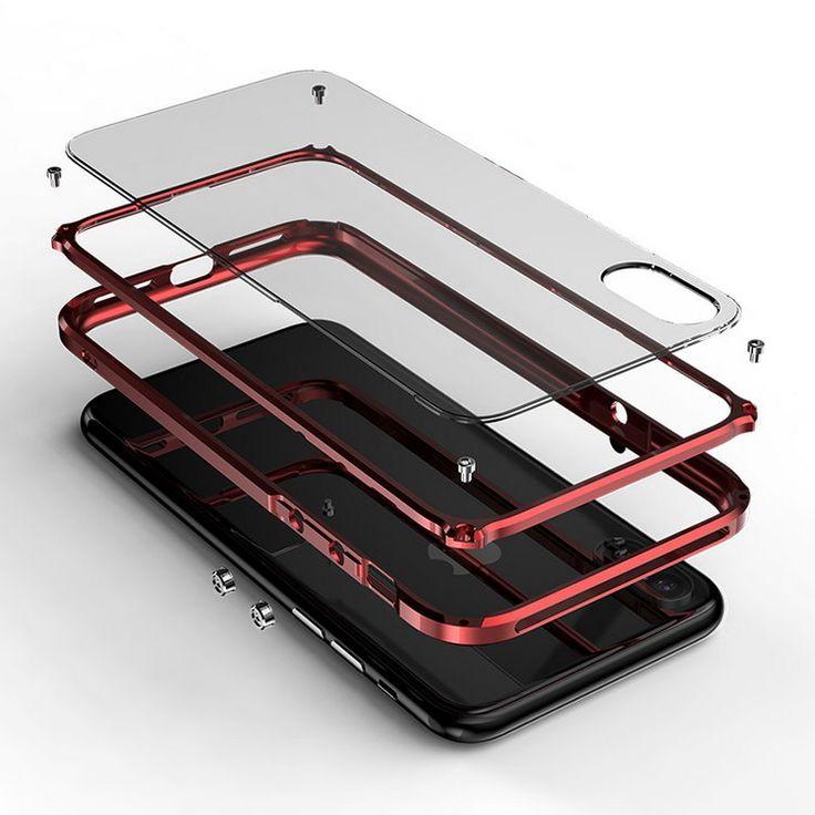 iPhoneX アルミバンパー アイフォンX ハードケース かっこいい メタルサイドバンパー スマホ バンパーケース 衝撃吸収 スマホケースGM05B【送料無料】 - iphone X 手帳型ケース 通販サイト スマホケースのIT問屋