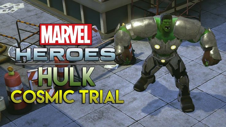 Marvel Heroes 2015 - Midtown Manhattan Cosmic Trial with Hulk Gameplay! | Hulk Stomp Build - YouTube