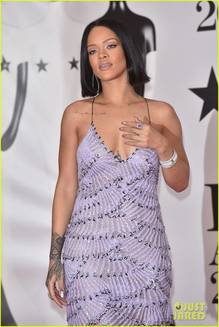 Rihanna Walks the Red Carpet at BRIT Awards 2016!   rihanna brit awards 2016 red carpet 09 - Photo