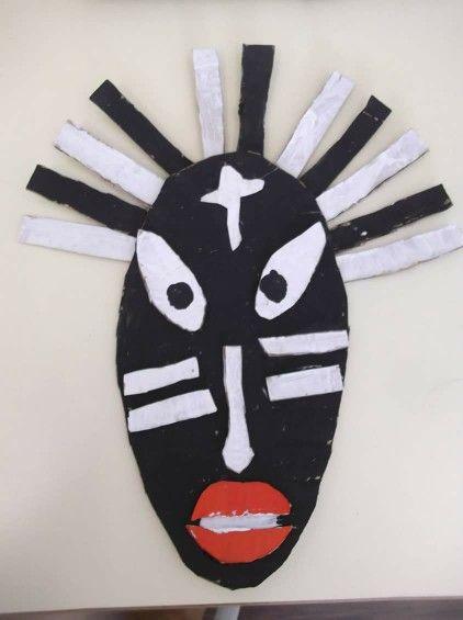 Masque africain. Laissez libre cours à leur imagination!