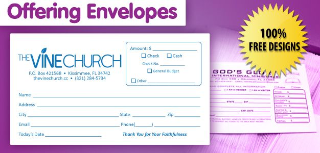 we print all type of offering envelopes and tithe. Black Bedroom Furniture Sets. Home Design Ideas