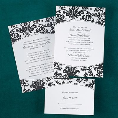 7 best ZFOLD WEDDING INVITATIONS images on Pinterest